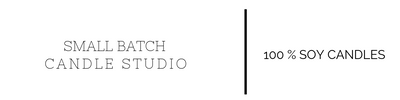 Small Batch Candle Studio