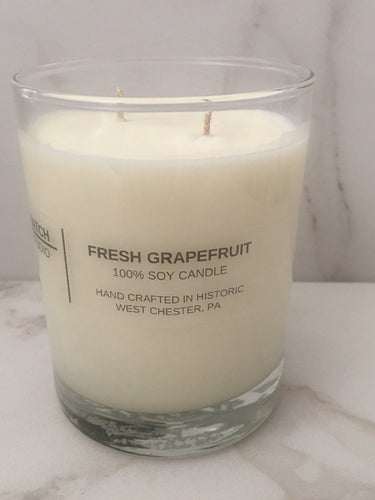 FRESH GRAPEFRUIT 100% Soy Wax Candle