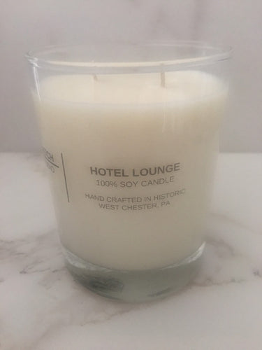 HOTEL LOUNGE 100% Soy Wax Candle