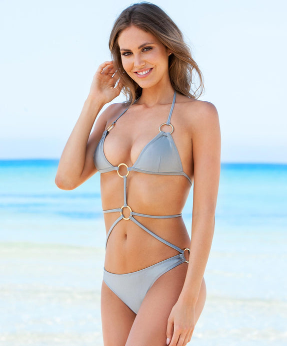 Swimsuit Alina Silver