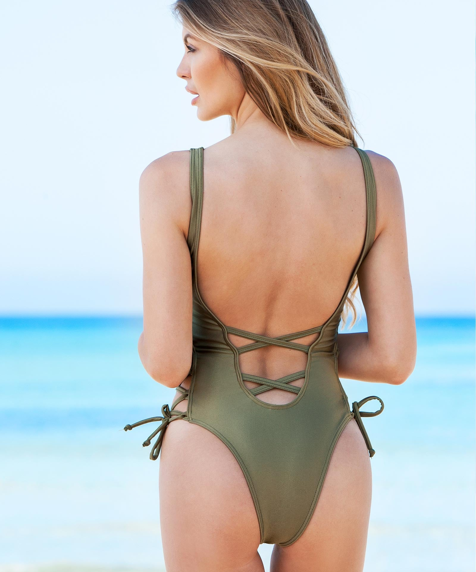 Swimsuit Julia Khaki