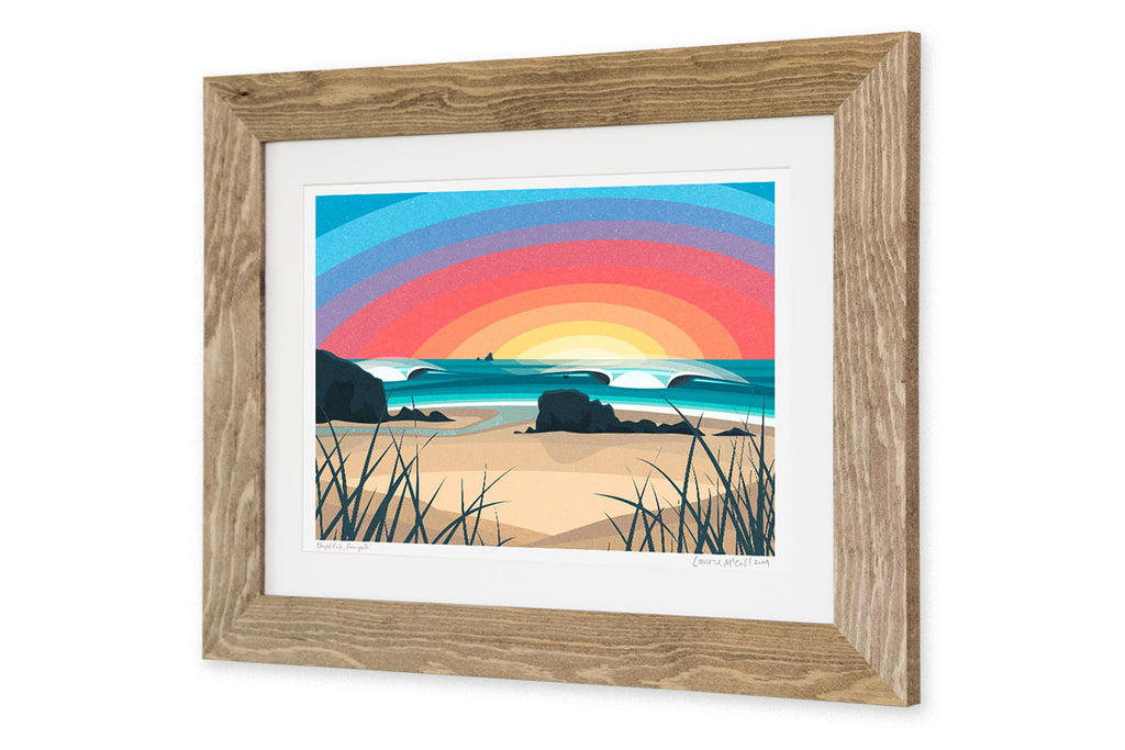 'Chapel Rock, Perranporth' Prints