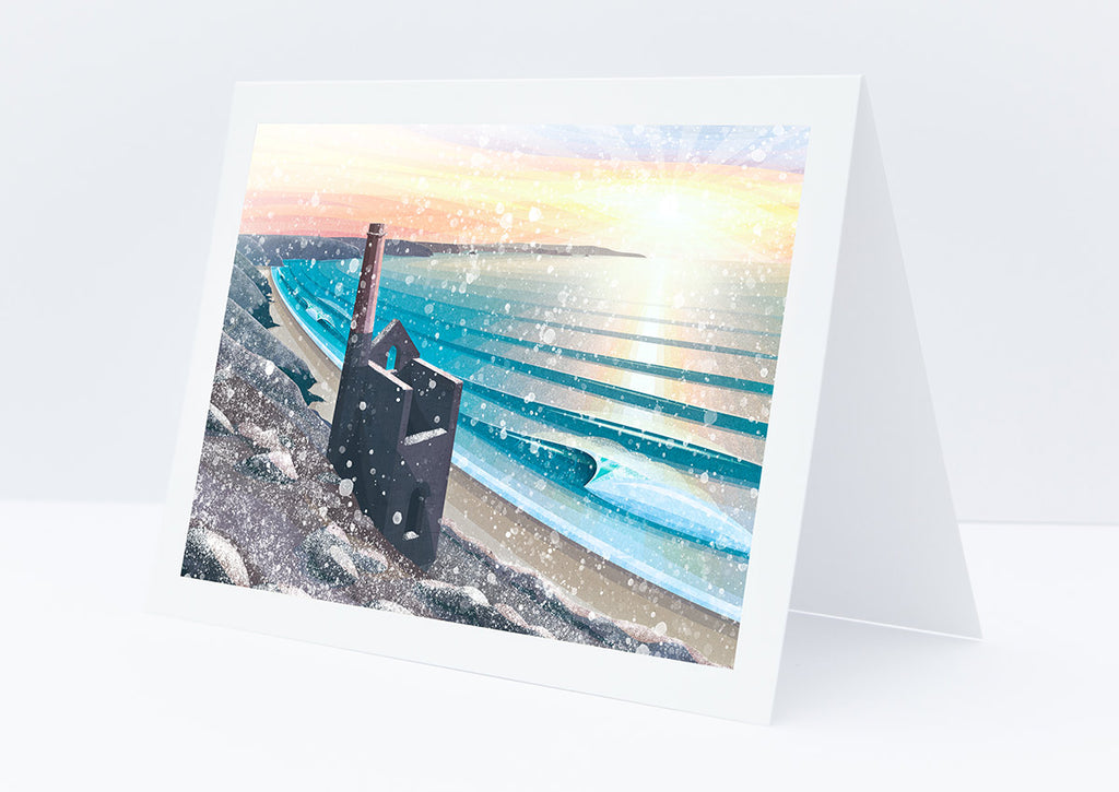 Winter Wheal Coates Christmas Card