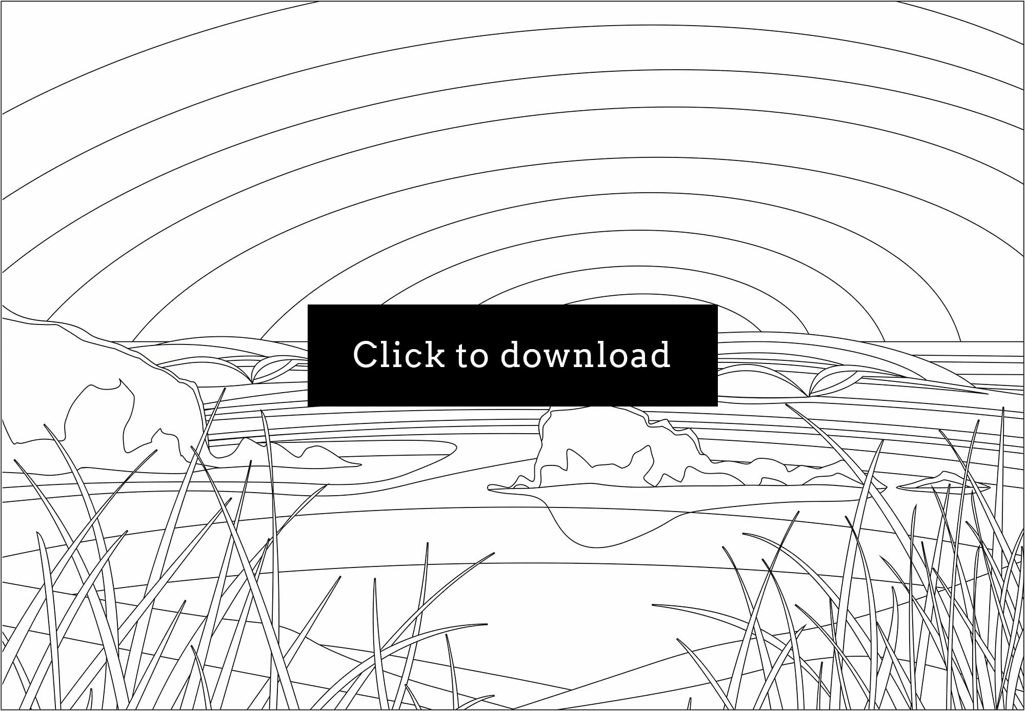 Download Chapel Rock colouring page