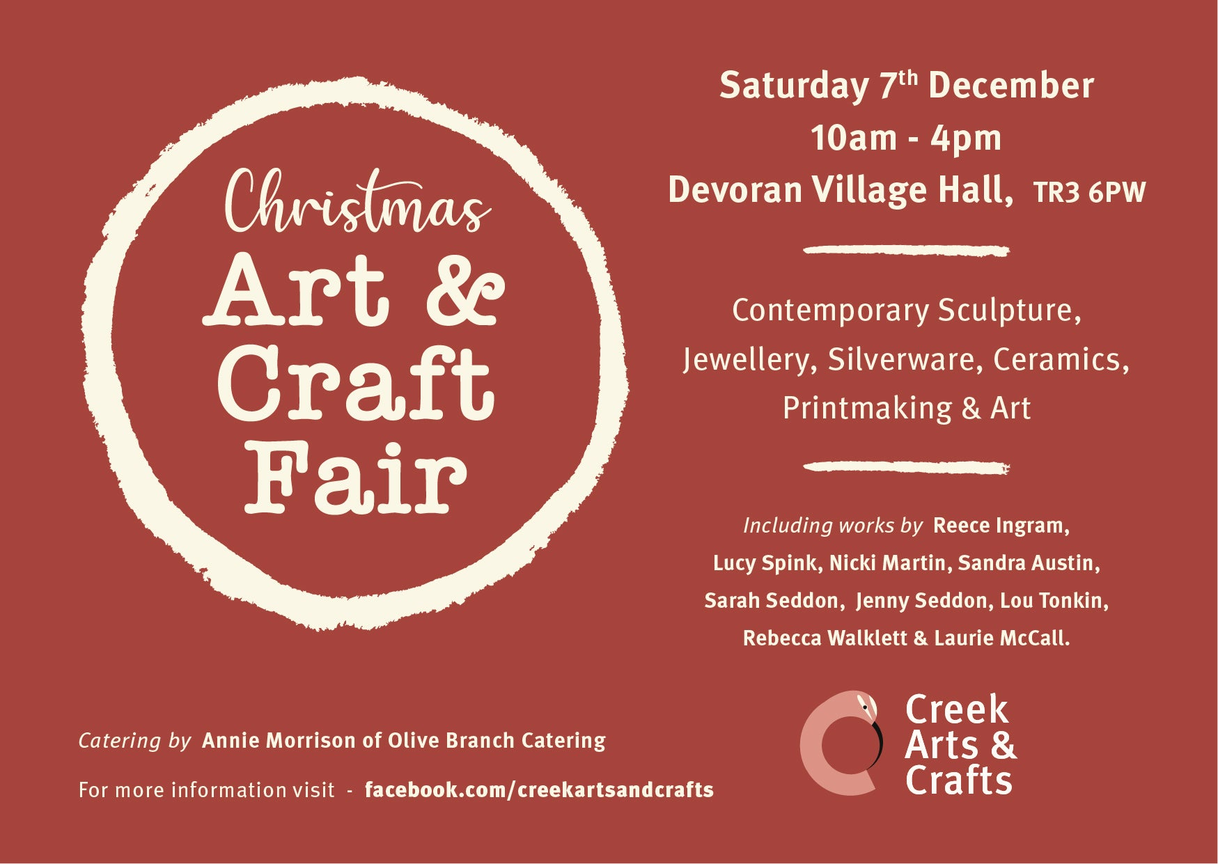 Devoran Christmas Art Fair 2019