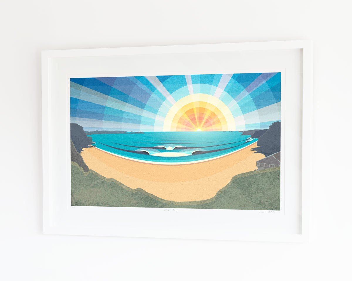 Laurie McCall Art Watergate bay print competition
