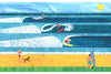 'Fun Surf' Original Collage (SOLD)