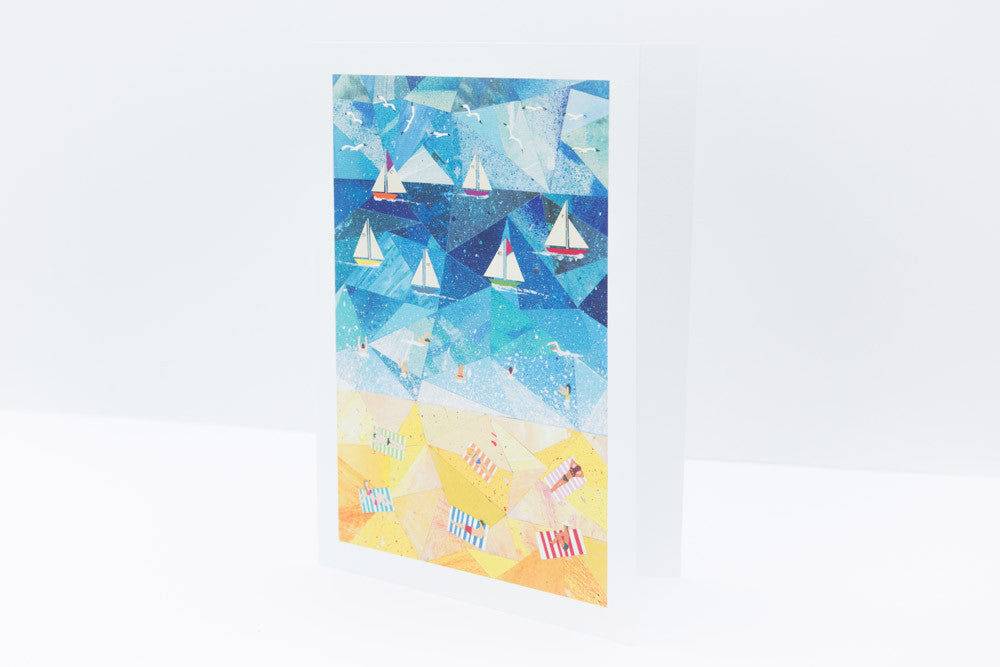 'Beach Day' Greeting Card