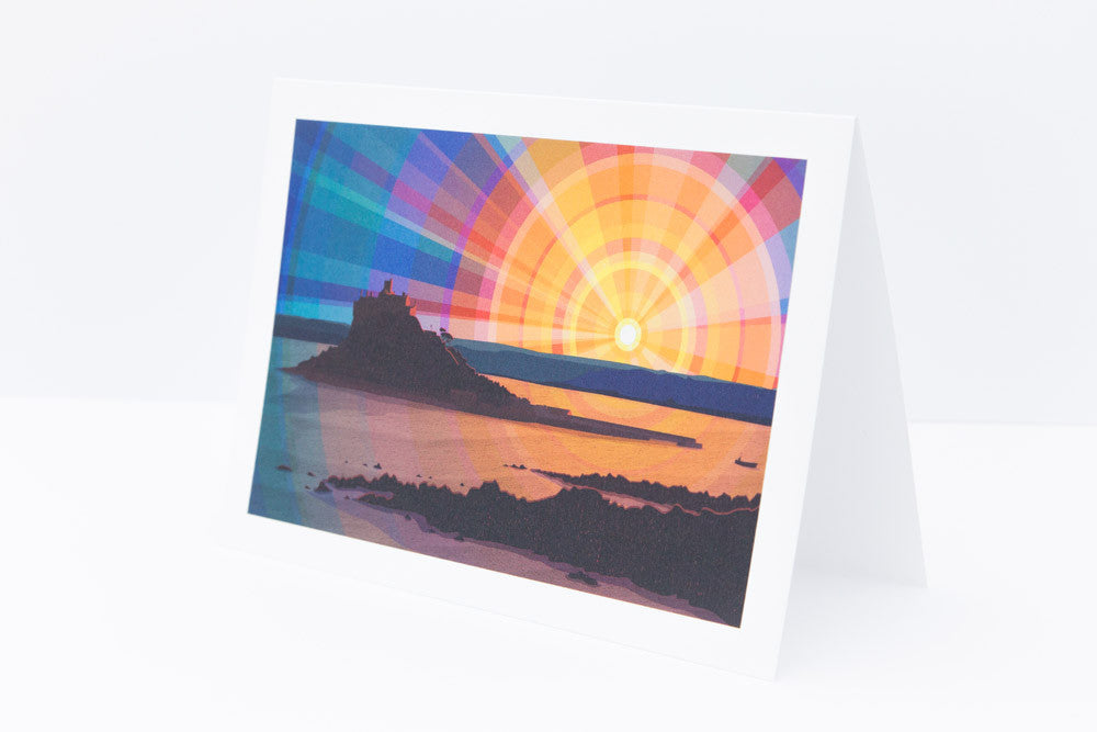 'St Michael's Mount' Greeting Card