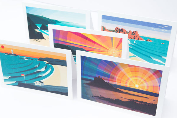 Greetings Cards - Pack of 10