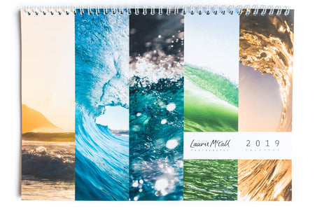 Laurie McCall 2019 Waves Calendar