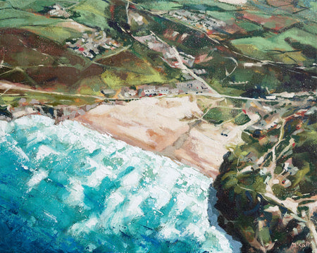 'Porthtowan' Limited Edition Fine Art Print