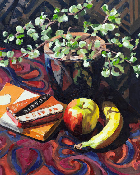 'Still Life' Original Oil Painting