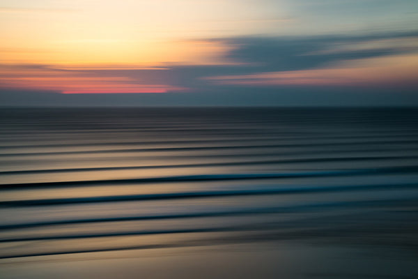 'Watergate Bay Lines' Photo Print