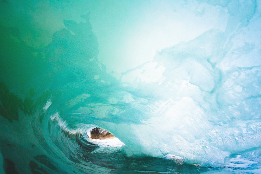 'Winter Shorebreak' Photo Print