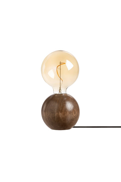 QUU tablelamp walnut