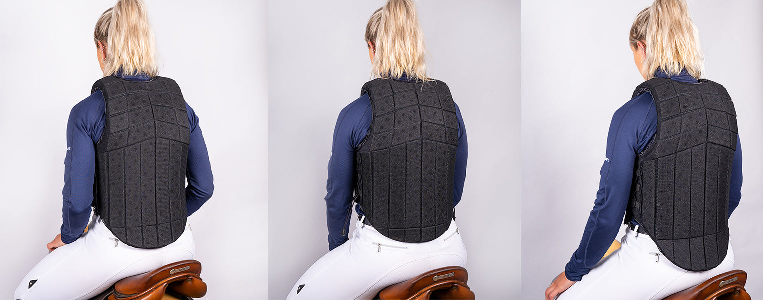 Racesafe Body Protector: Back Length