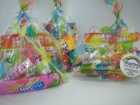 10 Pre Filled Sweet Bags Kids Birthday Party Childrens Adults Gifts
