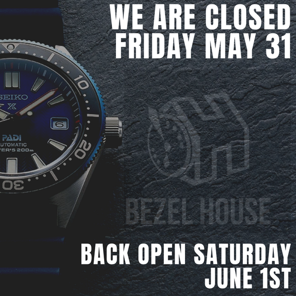 Closed this Friday