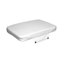 8WD1502-784 Roadie / Orca 20 Qt Cooler Cushion in White Vinyl