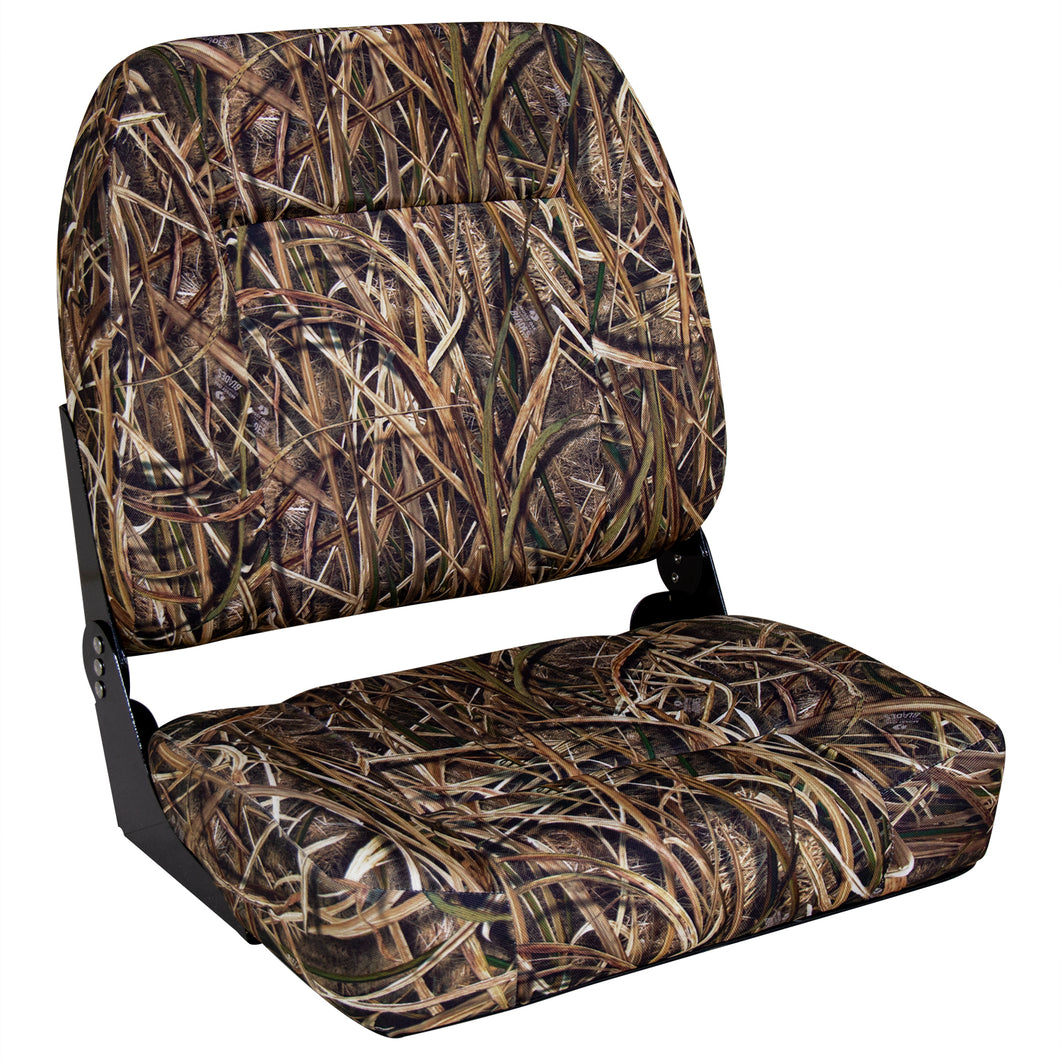 Wise Outdoors 3057-728 Big Man Camouflage Oversized Seat - Mossy Oak Shadowgrass Blades