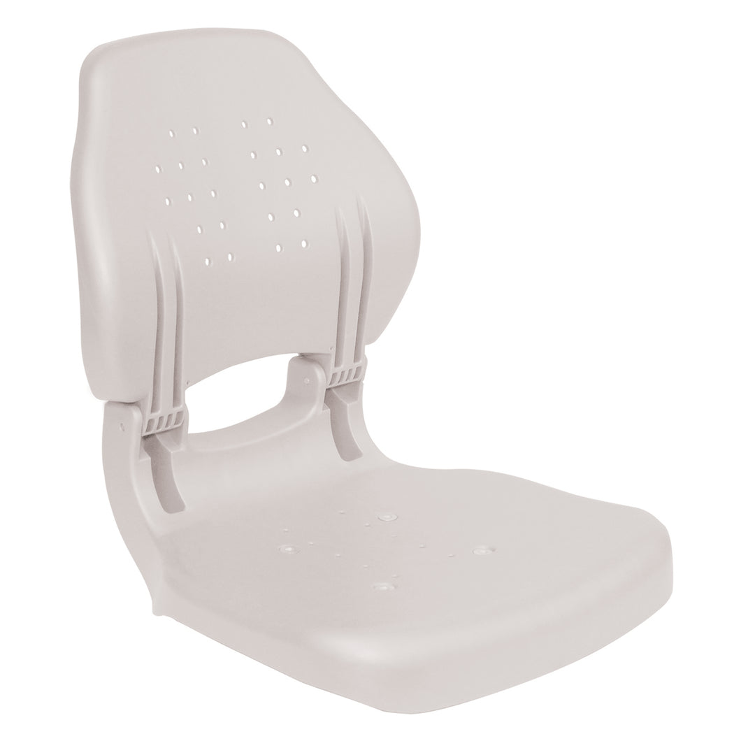 Wise Outdoors - 3140-710 Torsa Hunter Ergonomic Plastic Boat Seat