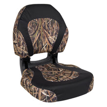 Wise Outdooes 3161-1886 Torsa Trailhawk Edition Ergonomic Boat Seat - Shadowgrass Blades