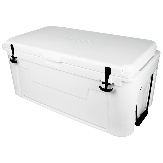Wise Ice Cage White 105 Qt Cooler | LED Light Bar - Free Shipping | Yeti | RTIC