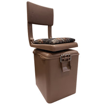 5613-246 Wise Outdoors Super Sport Seat - Brown Bucket w/ Camo Cushion