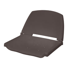 Wise Outdoors - 8WD138LS - Molded Plastic Fold Down Boat Seat