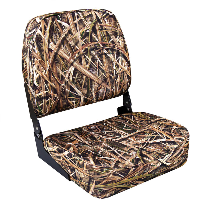 Wise 8WD618PLS-728 High Back Camo Boat Seat - Mossy Oak Shadowgrass Blades