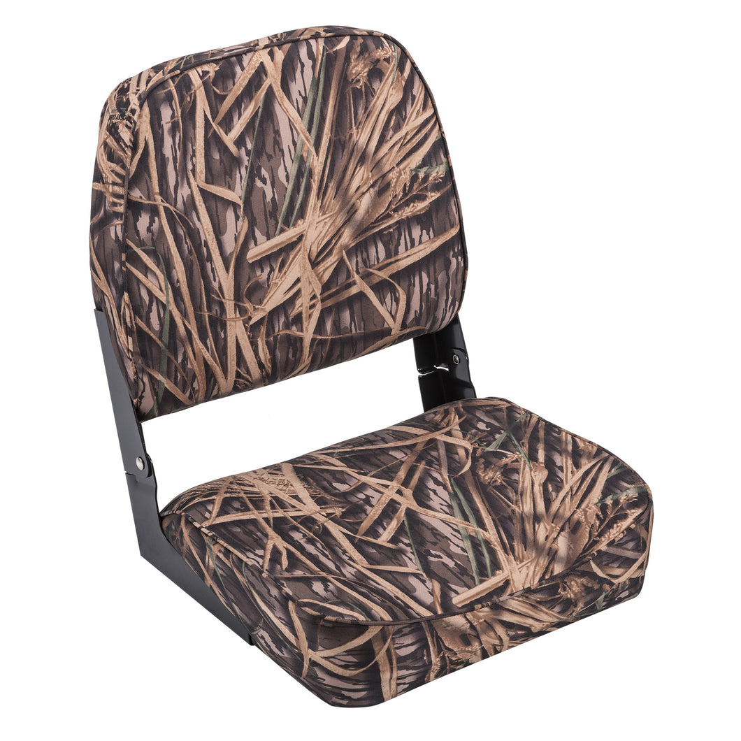 Wise 8WD618PLS-729 High Back Camo Boat Seat - Mossy Oak Shadowgrass