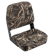 Wise 8WD618PLS-733 High Back Camo Boat Seat - Realtree Max 5