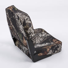 Wise 8WD618PLS High Back Camo Boat Seat - Rear View