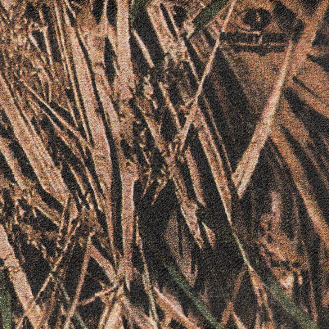 Mossy Oak Shadowgrass Camo by the Yard | Camouflage Upholstery | Marine Grade Vinyl