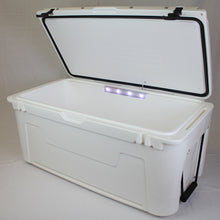3331 Ice Cage 105 Qt Cooler w/ Lid Cushion | Integrated LED Light Bar