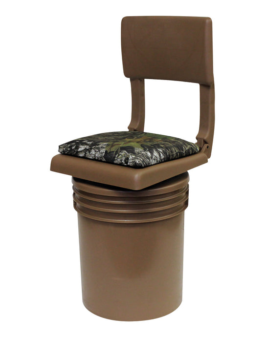 WD2200 Wise Outdoors Bucket 360 with Silent Swivel and Folding Seat