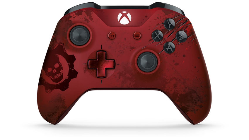 Gears of War Xbox One S Controller - AquaSilvermist