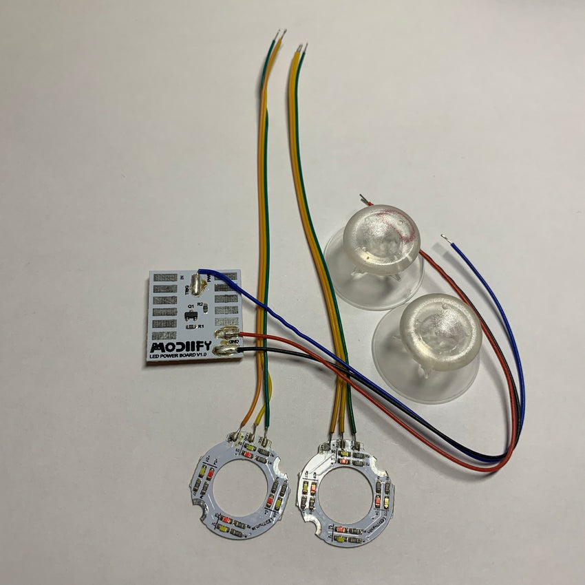 LED Thumbsticks for Xbox 360 Controller - AquaSilvermist