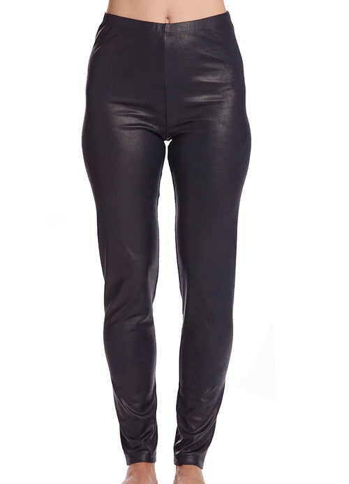 Poly Leather Pant