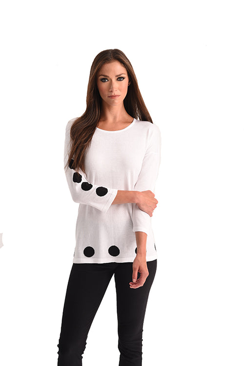 Polkadot Scoop Top