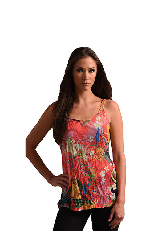 Hawaiian Escape Tank Top