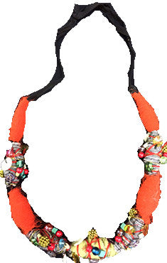 Embroidery Handmade Necklace
