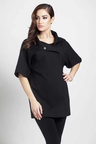 Bow V-Neck Tunic