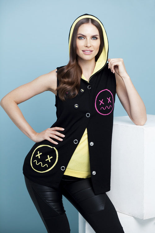 Emoji Hooded Vest