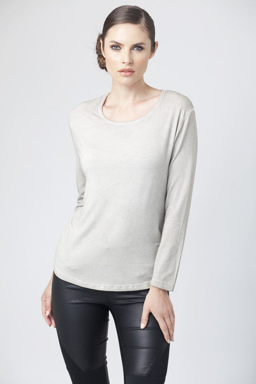 Scoop-Neck Top