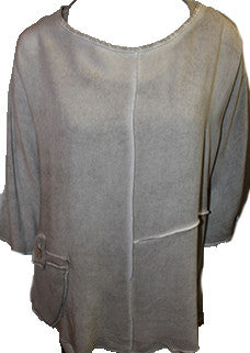 Pieced Tunic Top