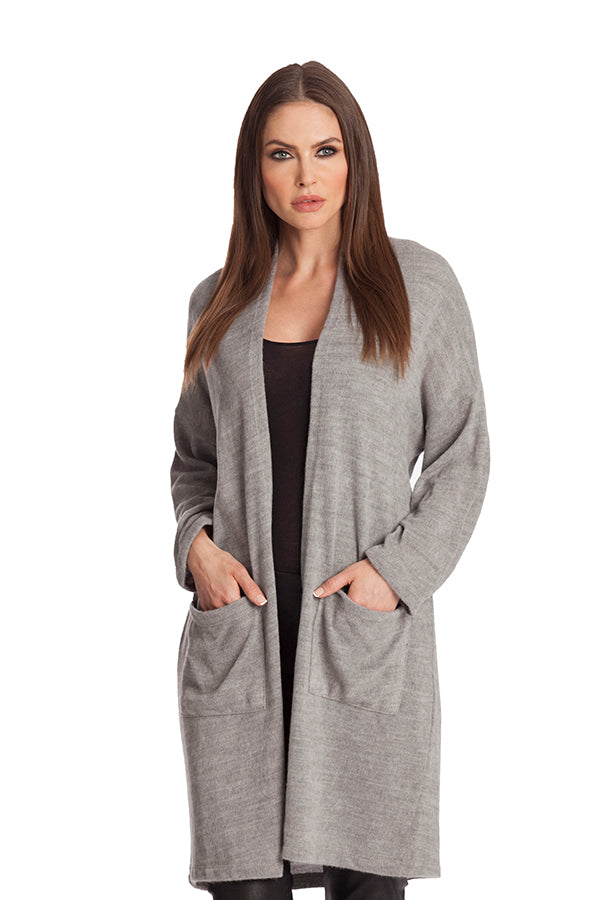 Long Cardigan W/ Pockets