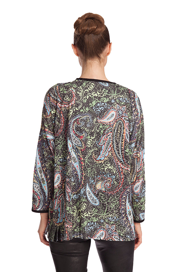 Paisley Fringe Bottom Top