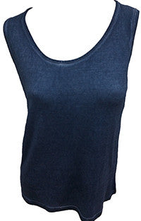 Stone Wash Bra-Friendly Tank Top